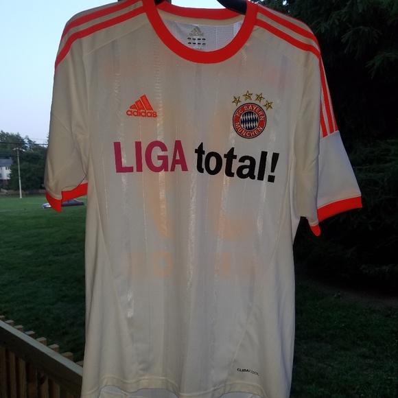 finest selection 34dfc aea44 Adidas Bayern munchen Liga total kroos Jersey